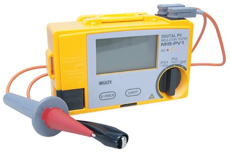 Measuring Instruments for PV systems