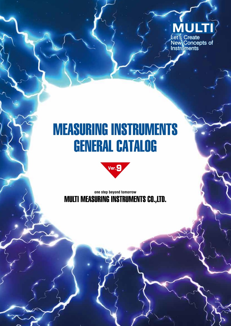 Measuring Instruments General Catalog